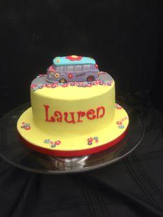 Vw campervan cake. Gluten free