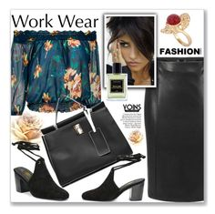 """Work Wear by Yoins"" by jecakns ❤ liked on Polyvore featuring Jardins D'Écrivains and Paolo"