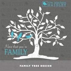This Family Tree Design file is for use in your Silhouette Studio, Cricut, or other programs that can read .ai, .dxf, .eps or .svg files. It can be used in scrapbooking, card making, and vinyl cutting - both regular and heat transfer vinyl. A physical product will not be mailed to