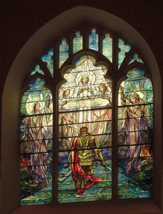 Tiffany Church Glass