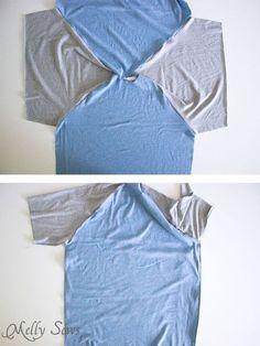 Mens Raglan T-Shirt Pattern (FREE