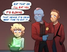 Peter quill yondu | Tumblr