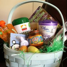 Cash's first Easter basket!