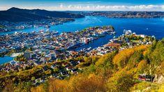 Fløibanen, Bergen. Bergen, Van Life, Norway, Mountains, Water, Travel, Outdoor, Voyage, Gripe Water