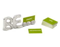 BE... INSPIRATIONAL PAPERWEIGHT | Metal Desktopper | UncommonGoods