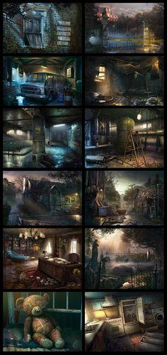 Abandoned: Chestnut Lodge Asylum, Illustration © ЮрийГвозденко
