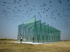 Fat-lab is a German Architectural R&D Firm.  Glasfaltwerk