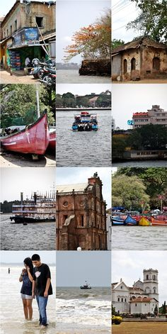 Few of many different sights of #Goa, India