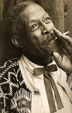 Son House at Hammersmith Odeon, London, UK, October 26, 1967; photographer: Sylvia Pitcher