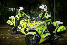 St. John Ambulance rapid response units (London, UK)