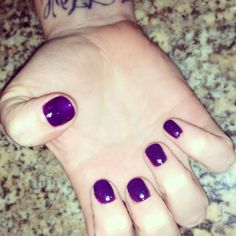 Purple gel with studs