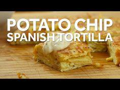 How to Make a Potato Chip Spanish Tortilla - YouTube
