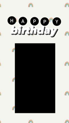 Creative Instagram Photo Ideas, Instagram Photo Editing, Instagram Story Ideas, Instagram Quotes, Birthday Captions Instagram, Birthday Post Instagram, Happy Birthday Template, Happy Birthday Frame, Instagram Frame Template
