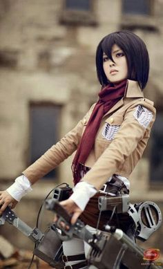 Mikasa Ackerman - Attack On Titan (進撃の巨人, Shingeki no Kyojin) - COSPLAY IS BAEEE! Tap the pin now to grab yourself some BAE Cosplay leggings and shirts! Cosplay Anime, Cosplay Make-up, Cosplay Outfits, Cosplay Costumes, Attack On Titan, Mikasa Ackerman Cosplay, Fanart Manga, Manga Anime, Nagisa Shiota