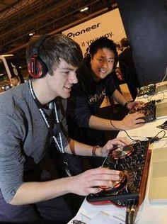 DJs on The Pioneer Stand at the Gadget Show Live from the Coventry Telegraph