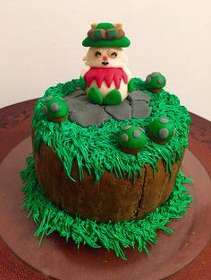 Homemade League of Legends cake!