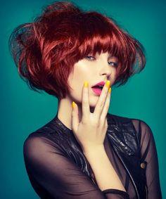 Chromatic - Helen Tether Avant Garde Hair, Hair Magazine, Hair Shows, Hairdresser, My Hair, Hair Color, Dreadlocks, Stylish, Hair Styles