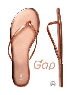 Brilliant Luxury by Emmy DE * Gap flip flops