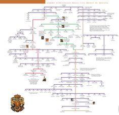 albero genealogico famiglia Medici