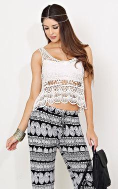 Gypsy Heart #Crochet Top