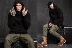 UNKNOWN 2015 Fall/Winter Lookbook Featuring Jimmy Q