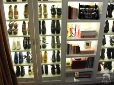 Shoe and Accessory Closet by Elle Uy
