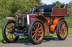 1902 Panhard-Levassor Type A 7hp Rear Entrance Tonneau Panhard et Levassor - ( Panhard et Levassor, Paris, France 1891-1967)