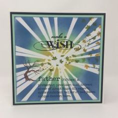 Father Definition | Visible Image - cards for men - father card - make a wish - strobes stencil - Jane Tyrrell