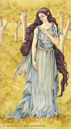 Lúthien by goldseven at Epilogue
