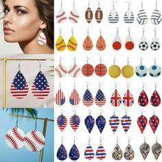Women's New Fashion Leather Earrings Boho Leaf Teardrop Dangle Ears Stud Jewelry Leather Earrings, Boho Earrings, New Fashion, Womens Fashion, Live News, Ear Studs, Ears, Dangles, Jewelry