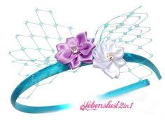 Haarreif Headpiece Kanzashi *ALEX* Elfe Tiara von Lebenslust2in1 auf DaWanda.com