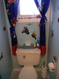 Mario Bathroom
