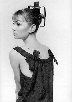 jean shrimpton, photo by david bailey, vogue, march 1964