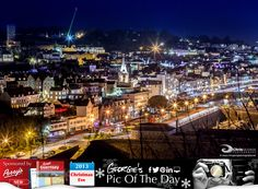 Christmas Eve in St Peter Port.....Magical! Only one more sleep till the big day. #LoveGuernsey  http://chrisgeorgephotography.dphoto.com/#/album/cbc2cr/photo/20752179  Perrys Guide Ref: Page 5 M12 Picture Ref: 24_12_13 — at St. Peter Port, Guernsey.