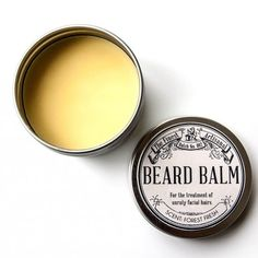 Beard balm is the perfect gift for all of the bearded men in your life.