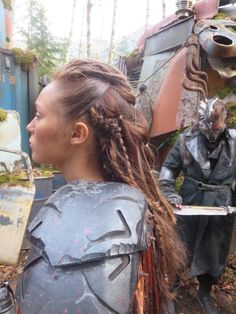 Lexa The 100 Frisur