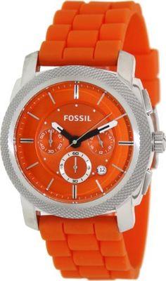 $98 ($144) - Fossil Men's Machine FS4806 Orange Silicone Analog Quartz Watch with Orange Dial by Fossil, http://www.amazon.ca/dp/B00BTEZO5C/ref=cm_sw_r_pi_dp_HUAzsb1QMP5RZ