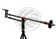 Gr�a para fotograf�a DSLR y v�deo DV extensible hasta 110cm plegable de fibra de carbono  www.cablematic.es/producto/Grua-para-fotografia-DSLR-y-video-DV-extensible-hasta-110cm-plegable-de-fibra-de-carbono/