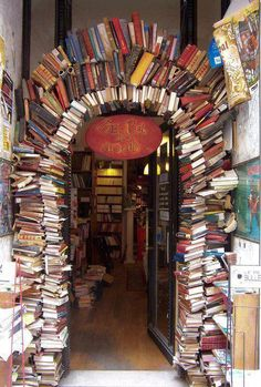 Bookstore in Paris