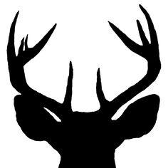 deer outline for facepainting