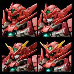 Custom Gundam, Gunpla Custom, Battle Bots, Gundam Mobile Suit, Gundam 00, Cool Robots, Super Robot, Gundam Model, Plastic Models