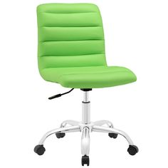The Ripple Mid Back Office Chair by Modway. As with the ripple after-effects caused by the toss of a pebble, there's no telling where the Ripple armless office chair will take you. For those who appreciat