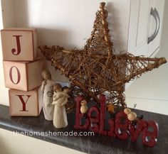 The Home She Made - Christmas decor