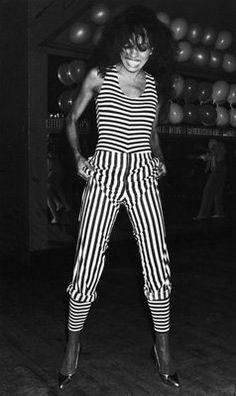 Diana Ross  wearing