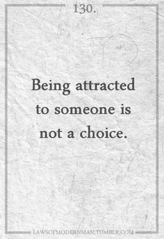 this choice is yours. but the attraction? that's really just there to do with as you will..