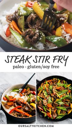 Steak Stirfry Recipes, Beef Steak Recipes, Paleo Stir Fry, Gluten Free Stir Fry Sauce Recipe, Clean Eating Stir Fry Sauce, Healthy Stir Fry Sauce, Shaved Beef Steak Recipe, Allergy Free Recipes, Gluten Free Recipes Beef