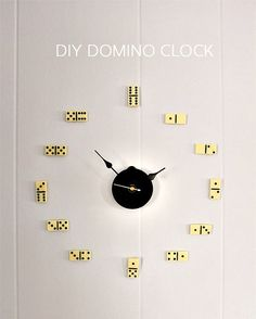 Get creative and surprise your dad with a Domino clock masterpiece this Father's Day.