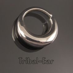 Septum nose ring plain silver vrai piercing nez non fake septums Tribal Ear 012