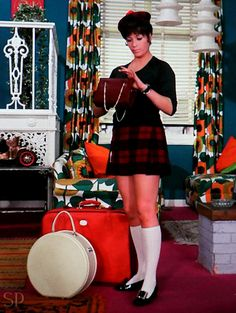 Linda Thorson as tara King in the Avengers