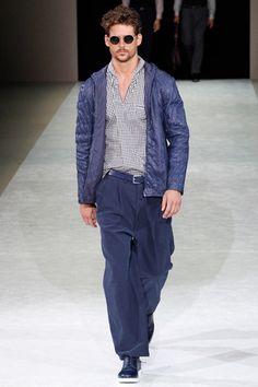 Giorgio Armani Spring 2015 Menswear Collection Slideshow on Style.com